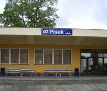 Rekonstrukce vlak. nádraží Písek