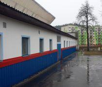 Zateplení šaten zimního stadionu Vimperk
